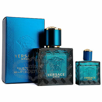 Versace Eros by Versace for Men - 1 oz EDT Spray
