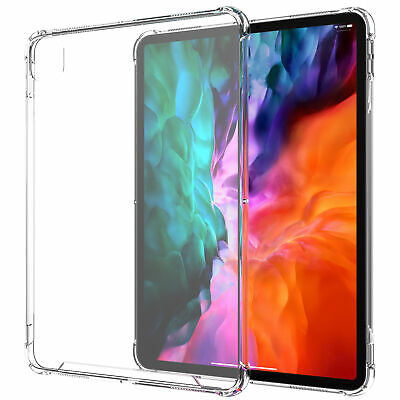 Luvvitt iPad Pro 11 Case 2020 Clear View Hybrid Slim Back Cover  - Clear