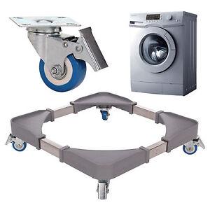 Universal Washing Machine Appliance Wheel Brake Adjust Trolley Roller Extendable