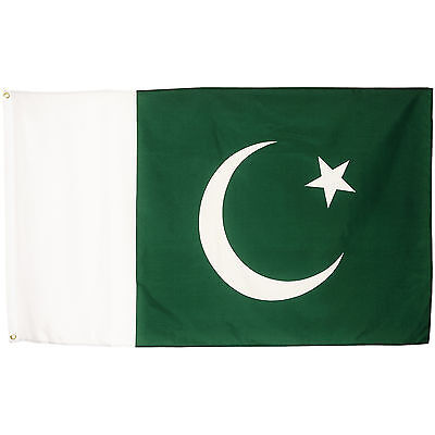 Fahne Pakistan Querformat 90 x 150 cm pakistanische Hiss Flagge Nationalflagge