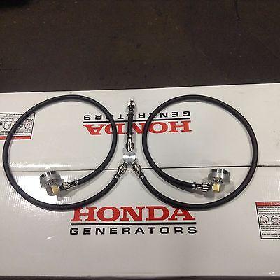 Honda Eu2000i Generator Extended Run A1-15 Y Flow Dual Line Fuel System