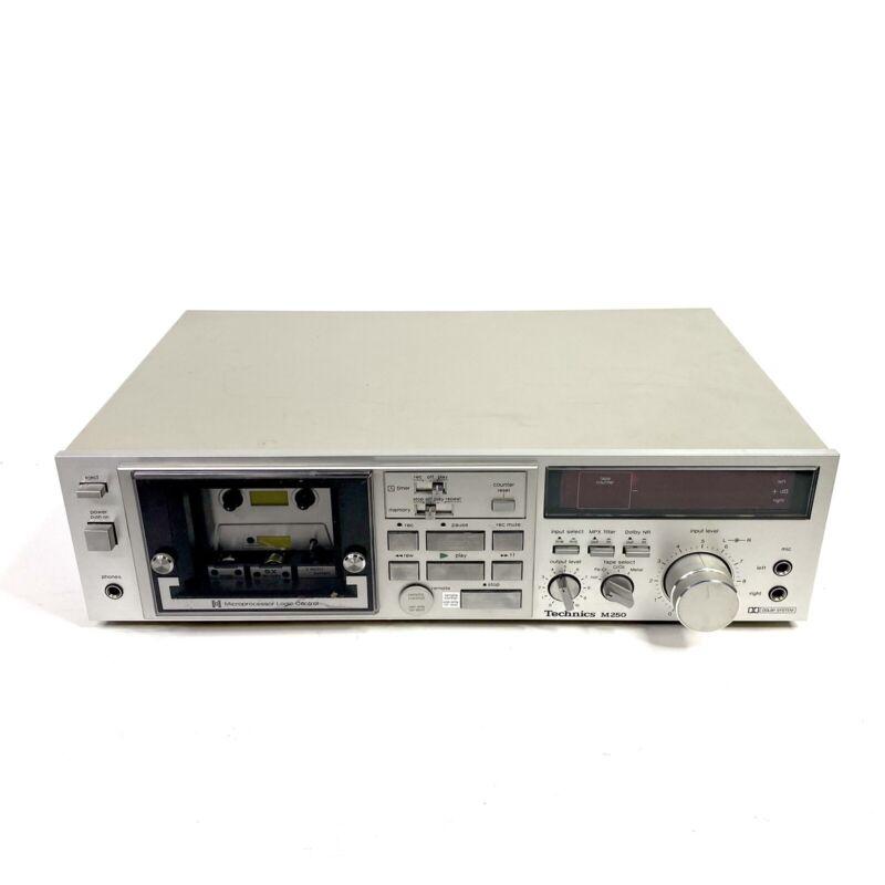 Technics M250 Vintage Stereo Cassette Deck Vintage Electronics