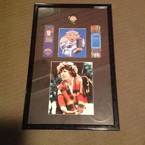 Picture signed Tom Baker Dr Who,book marks, professionally framed Como South Perth Area Preview