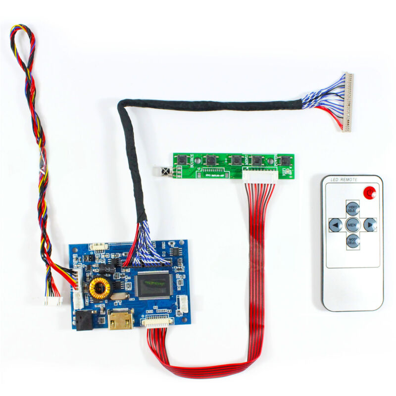 HD MI Audio LCD Controller Board For 19 in G190ETN01.2 G190ENT01.4 1280x1024 LCD