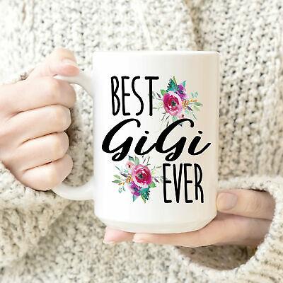 Best Gigi Ever Coffee Mug Grandparent Gift Gift For Grandma's Cute Coffee