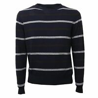 C0486 Maglione Lana Uomo B.k. Collection Blu Sweater Men - collection b - ebay.it