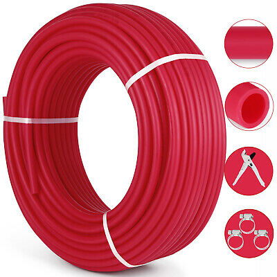 12 X 300ft Pex Tubing Oxygen Barrier O2 Evoh Red Radiant For In Floor Heat