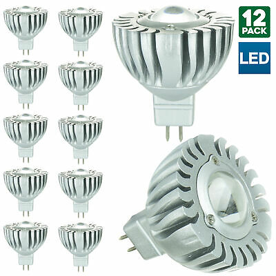 12 Pack Sunlite MR16 Mini Reflector, 12 Volt, GU5.3 Base Bulb, 6500K Daylight Mr16 Mini Reflector