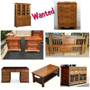 Wanted: Wood Furniture