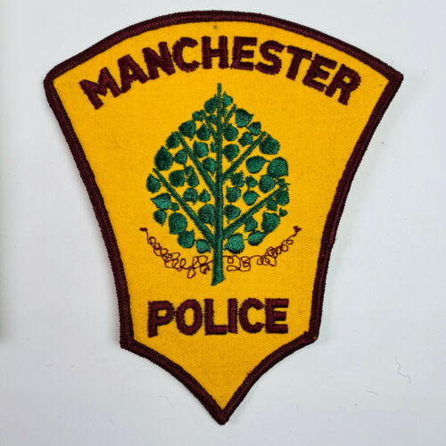 Manchester Police Connecticut Patch