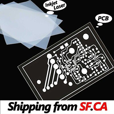 8.5 X 11inkjet Laser Printing Transparency For Diy Pcb Film 50 Sheets