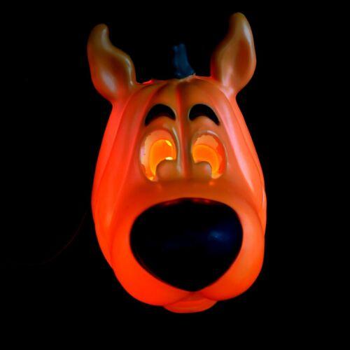 Jack O Lantern Scooby Doo Hanna Barbera Pumpkin Head Electric Light Halloween