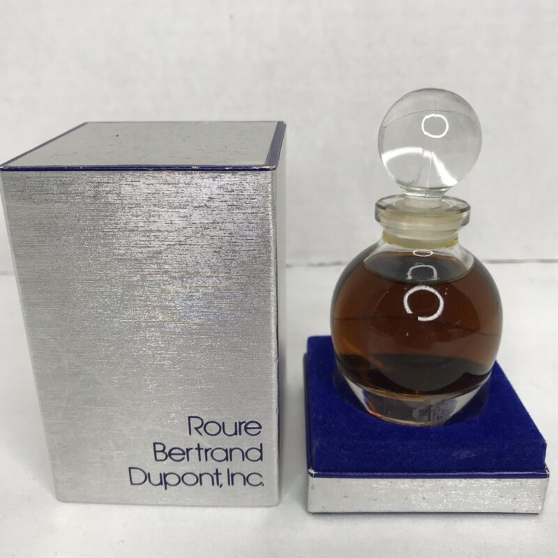 Vintage Rare Roure Bertrand Dupont, Inc Perfume 1 Oz Full