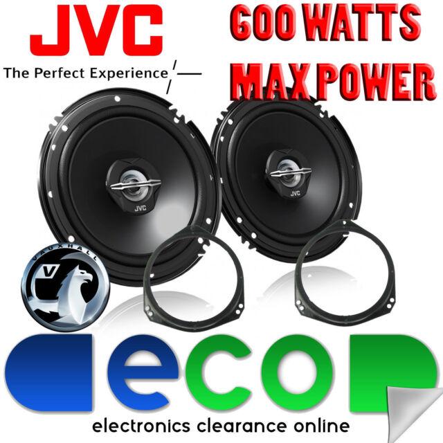 Vauxhall Corsa C 00-06 JVC 17cm 6.5 Inch 600 Watts 2 Way Front Door Car Speakers