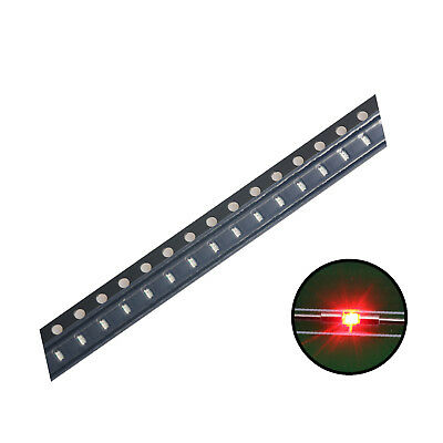 500pcs 04021005 Smd Led Diode Lights Bulbred Ultra Bright Chips