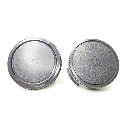 NEW Canon FD Lens Rear Cap and Body Cap for FL or FD Cameras A-1 AE-1 F-1 T-90