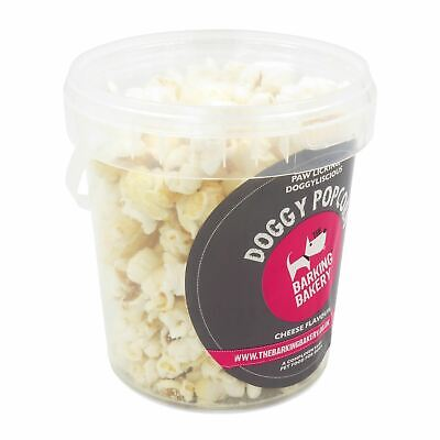Cheese Popcorn 55g Tub Low Calorie Treat Snack Food Present Gift for Dog -