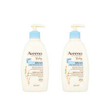 Aveeno Baby Daily Care Hair & Body Wash 300ml Delicate Skin Soft Hair Pack Of 2