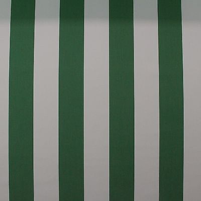 - SUNBRELLA 58027 CABANA EMERALD GREEN STRIPE OUTDOOR FURNITURE FABRIC BY YD 54