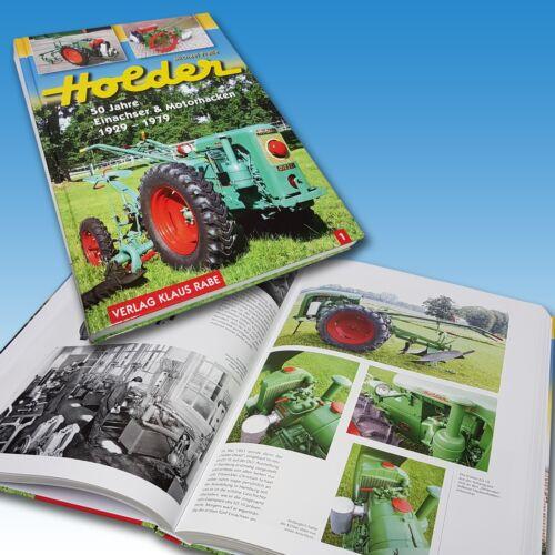 Holder 50 Jahre Einachser & Motorhacken 1929 - 1979 Holderbuch Buch Foto 1