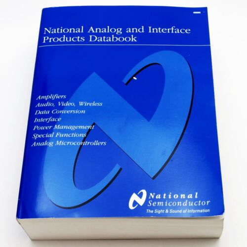 NATIONAL SEMICONDUCTOR ANALOG &INTERFACE PRODUCTS DATABOOK 2002 Component Manual