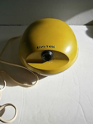 Org Vintage Boston Avocado Green Electric Pencil Sharpener Model #16 Egg Shape