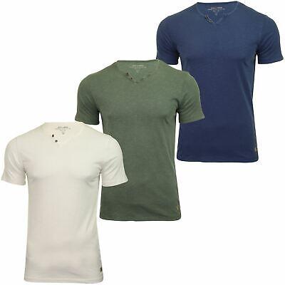 Split-neck T-shirt (Jack & Jones Mens Split Neck T-Shirt 'JPRBEN' - Short Sleeved)