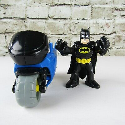 Fisher Price Imaginext DC Super Friends Batman Figure and Motorcycle