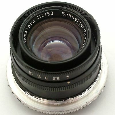 Schneider Componon 50mm f4.0 enlarging lens, excellent condition