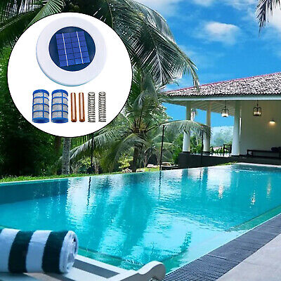 The Ionizer Solar Swimming Pool Hot Tub Water Purifier