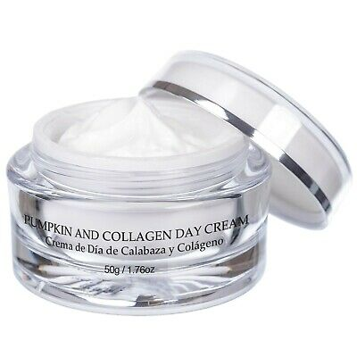 Vivo Per Lei Anti Aging Collagen Day Cream Face Moisturizer with Pumpkin