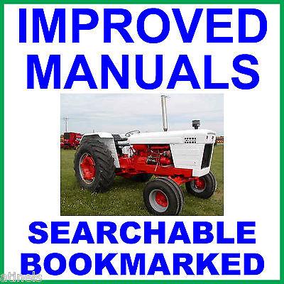 Case David Brown 1190 1194 1290 1294 Tractor Workshop Repair Service Manual Cd