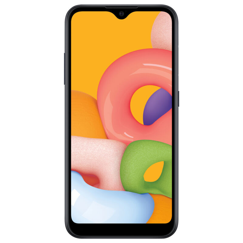 Net10 Samsung Galaxy A01 4G LTE Prepaid Cell Phone