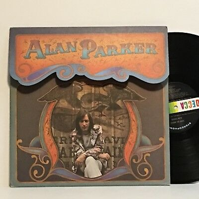 Alan Parker BAND OF ANGELS 1972 DECCA promo LP die-cut Cover Minty