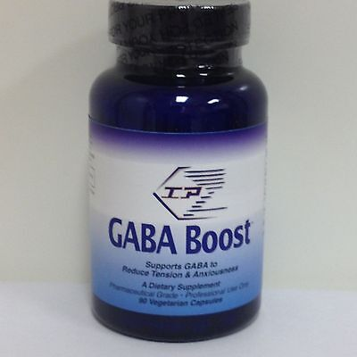 GABA Boost GABA & Anxiety Supplement 90 caps by IP Formulas