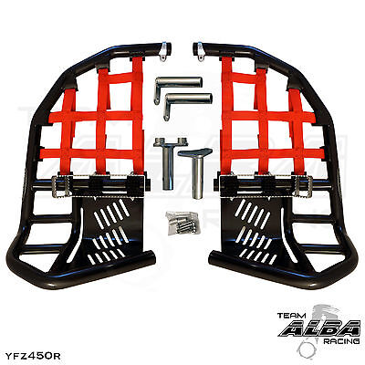 Yamaha Blaster YFS 200  Nerf Bars  Pro Peg  Alba Racing  Black Red 212 T7 BR