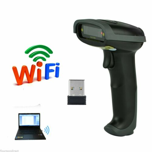 2.4GHz USB WIFI Handheld Wireless Laser Cordless Barcode Sca