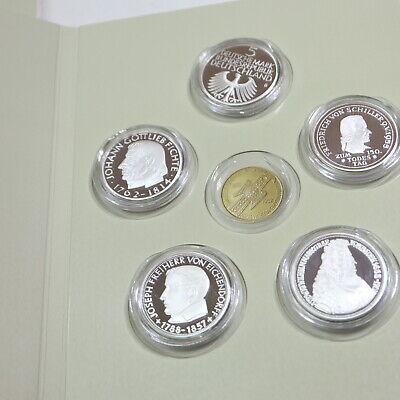 5 Numismatic Silbermedaillen; 5 x 1/10 Unze Silber 333 online kaufen