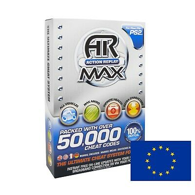 PS2 Action Replay Max (for Euro consoles - PAL)