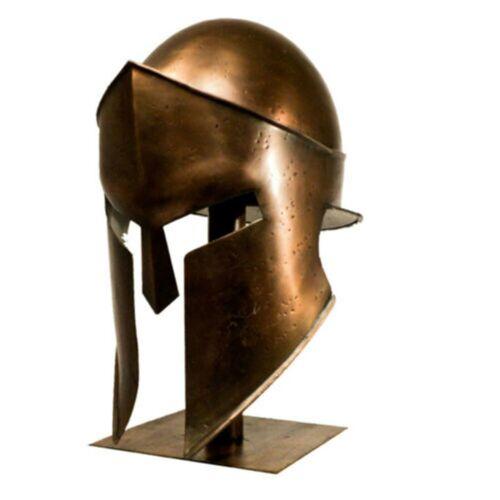 Helmet Medieval Vintage Armour Roman Spartan helmet replica LARP for Halloween