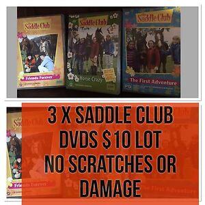 3 x SADDLE CLUB DVDS $10 Lot Tenambit Maitland Area Preview