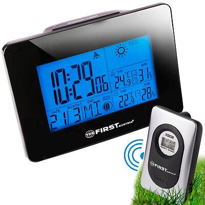 Wetterstation mit Außensensor, Hygrometer, Thermometer, Wecker, Farbdisplay