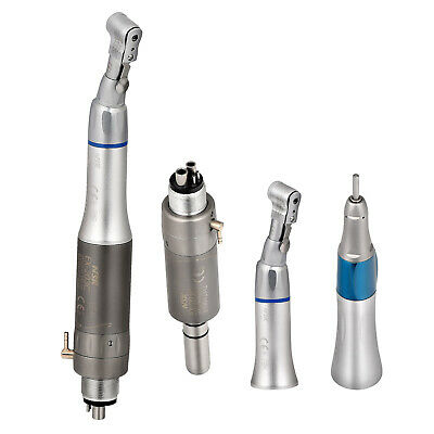 Dental Slow Low Speed Handpiece Contra Angle Straight Air Motor 24 Hole E-type