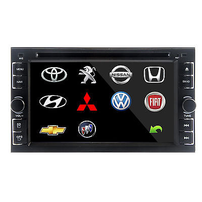 "Double 2Din 6.2"" Stereo Car DVD CD Player Bluetooth Radio iPod SD/USB TV No Gps on Rummage"
