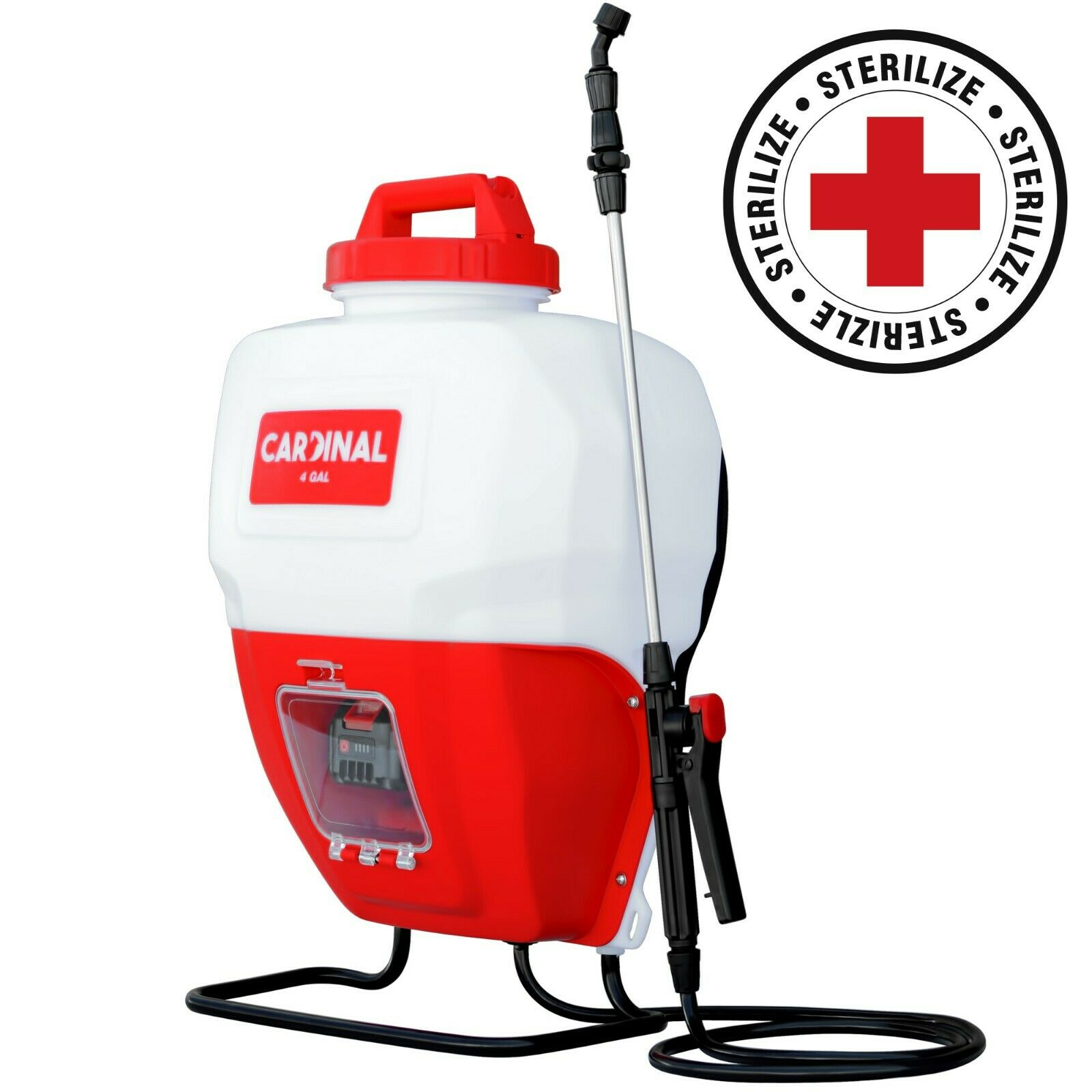 4 gallon 21v battery powered backpack sprayer