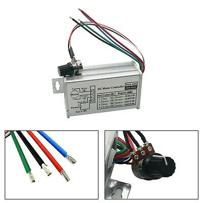 12v 24v Max 20a Pwm Dc Motor Stepless Variable Speed Control Controller Switch P