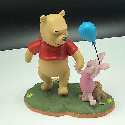 WINNIE POOH FRIENDS FIGURINE Walt disney porcelain enesco piglet ta for now (Ta Ta For Now Winnie The Pooh)