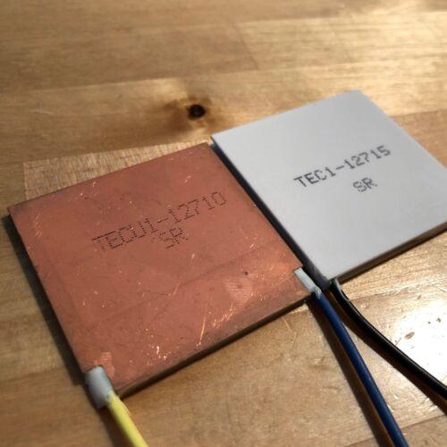 TECu1-12710 Copper Thermoelectric Peltier Plate Module 40*40mm