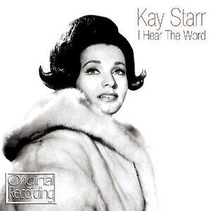 KAY STARR - I HEAR THE WORD - ORIGINAL ALBUM RECORDINGS  CD - FREE POST IN UK