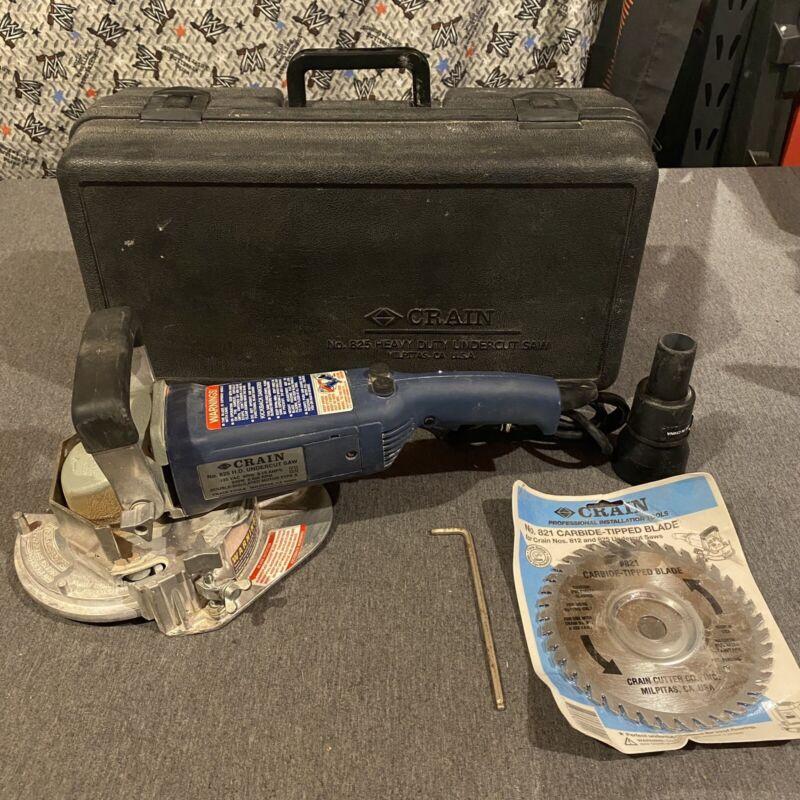 Crain Model 825 H.D. Undercut Saw  W/ Case